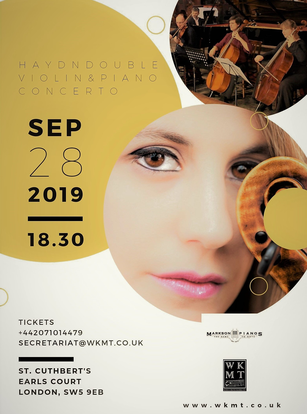 Haydn concerto in London by WKMT