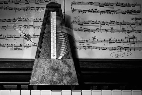Using the metronome - learning piano tips