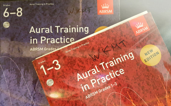 Training aural tests for your ABRSM exams.