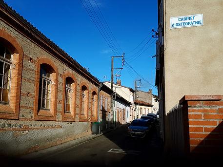 Photo accès rue Ostéo