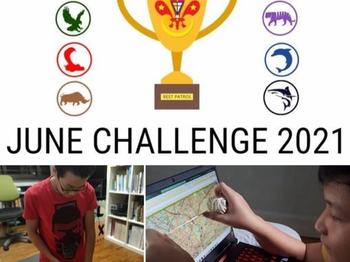 Patrol League: June Challenge 2021