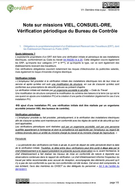 Verifications périodiques et Consuel