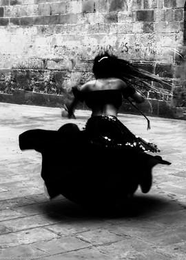 CFH_Barcelona_Bailarina Flamenco BW_Comp