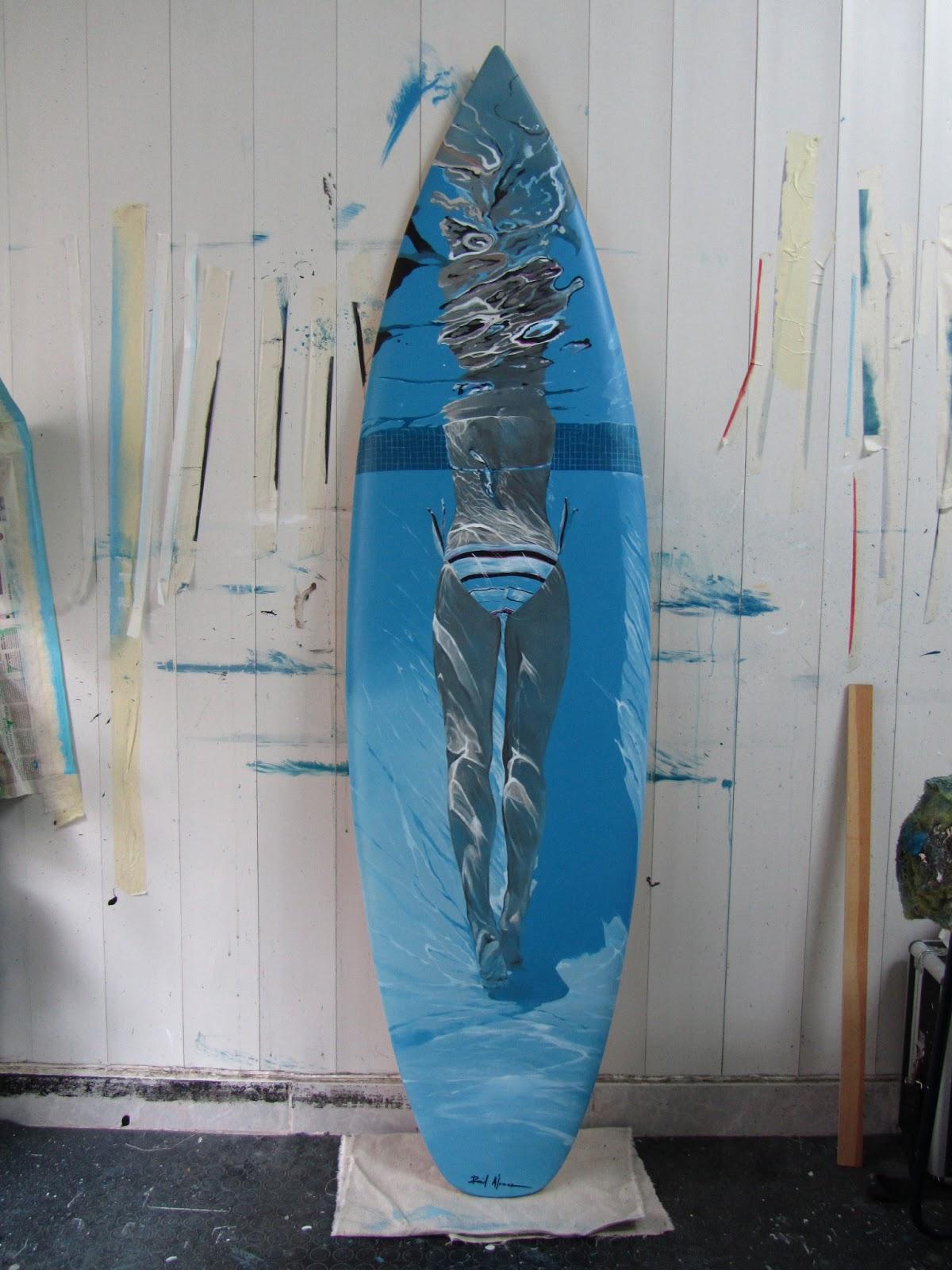 Surfer legs