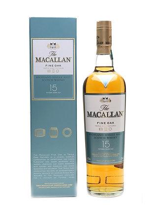 The Macallan 15 Fine Oak