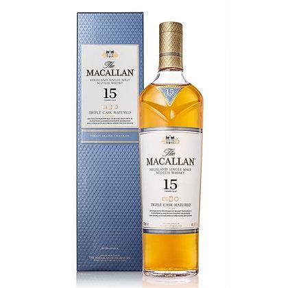 The Macallan 15 Triple Cask Matured