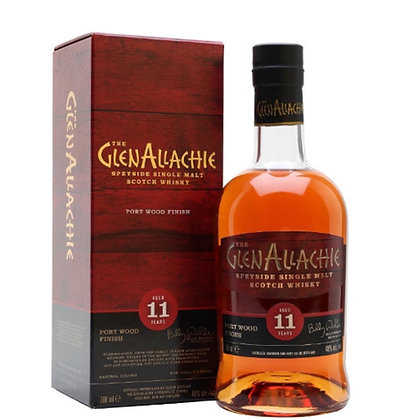 GlenAllachie 11 Year Old Port Wood