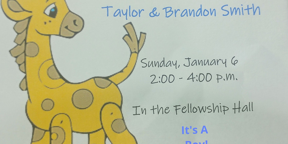 Baby Shower for Taylor & Brandon Smith