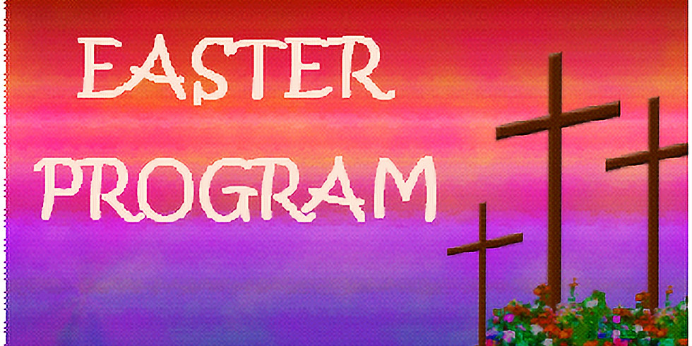 Children's Easter Program Practice