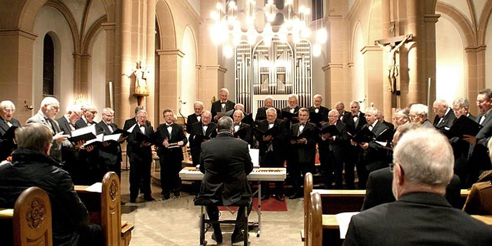 Men's Choir Practice