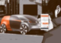 Self-driving Car Servicein Urban Area