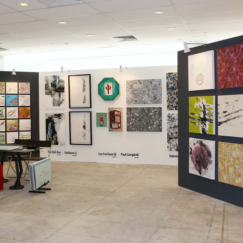 instinct studio ... 10th year anniverary booth at affordable art fair ... 2014 ... click for more //