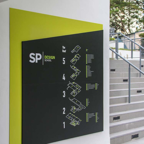 sp design school ... way finding ... 2014 ... click for more //