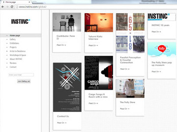 instinc ... 2013 ... writing .  interview .  feature .  coverage ... click for more //