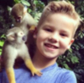 Rainforest Adventure Tour | Wildlife Encounters | Animal Encounters | Monkey Jungle | Squirrel Monkeys | Capuchin Monkeys