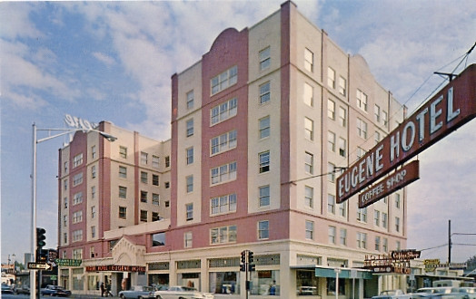 The Eugene Hotel in the 1960s