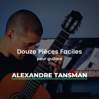 Douze Pieces Faciles Tansman 1 - 5 IG.pn