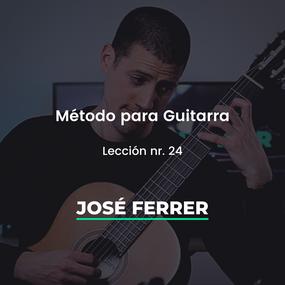 Jose Ferrer leccion 24