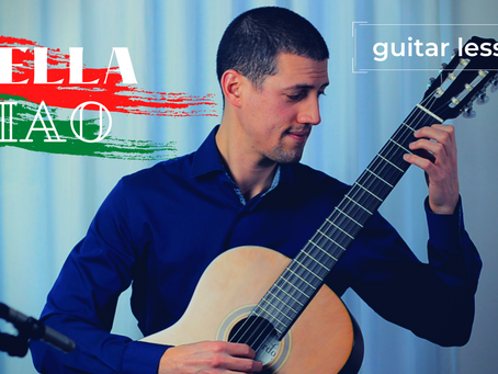 Guitar Lesson: Bella Ciao - tips to learn & memorize new music