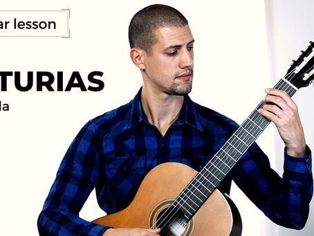 Guitar Lesson: Asturias (Leyenda) - Isaac Albéniz