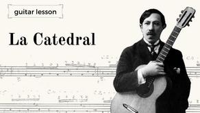 Aula de Guitarra: La Catedral - análise do manuscrito de Agustín Barrios vs. Edições