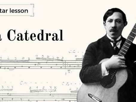 Guitar Lesson: La Catedral - analysing Agustín Barrios' manuscript vs editions