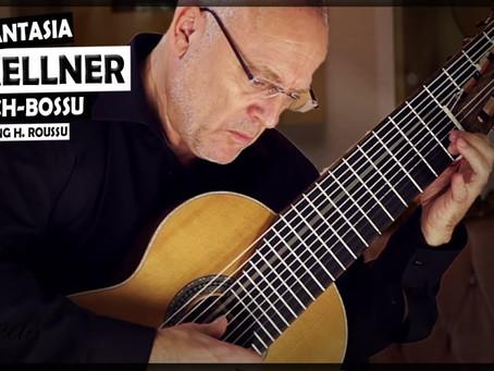 Andreas Koch plays David Kellner on a 11-stringed guitar