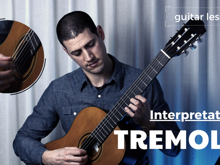 How to learn and practice a tremolo piece - part I
