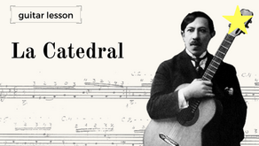Aula de Guitarra (Premium): La Catedral - análise do manuscrito de Agustín Barrios vs. Edições