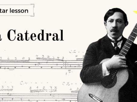 Aula de Guitarra ⭐Premium: La Catedral - análise do manuscrito de Agustín Barrios vs. Edições