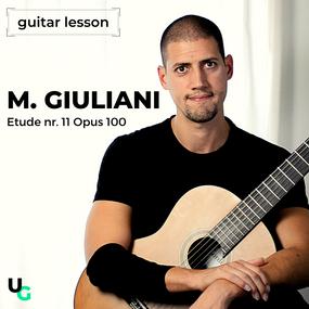 Gitaarles: Etude 11 op100 Giuliani