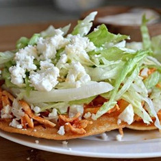 Tons of Mexican specialties, like Tinga Tostada! Come on in to Don Chucho!