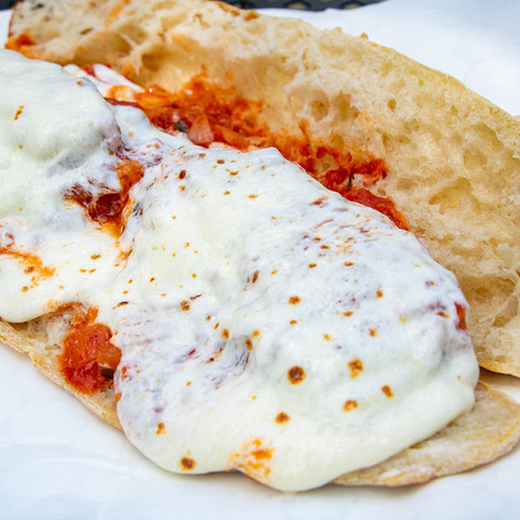Chicken Parm with Mozzarella