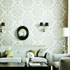 white-gray-fleur-de-lis-wallpaper-living