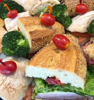 Tomato and Broccoli Sandwich