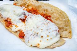 Chicken Parm with Mozzarella