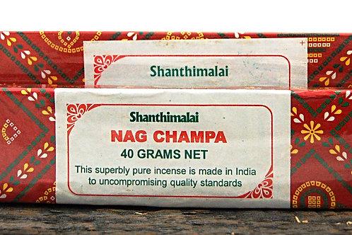 Shanthimalai Red Nag Champa