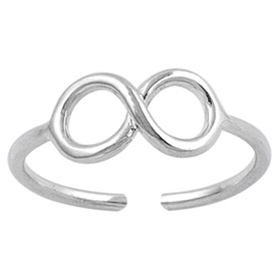 infinity & beyond toe ring