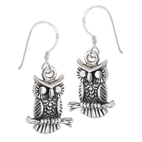 fauna series | oxidized owl + branch