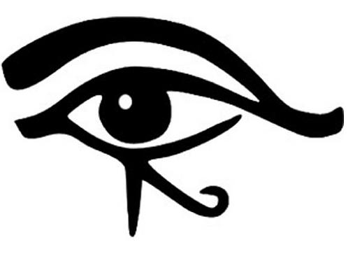 vinyl eye of horus