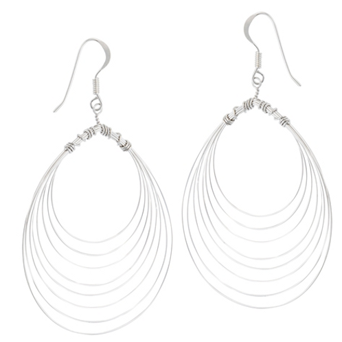handmade series | concentric wire dangles