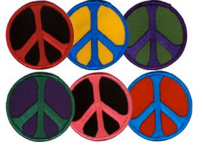color peace sign