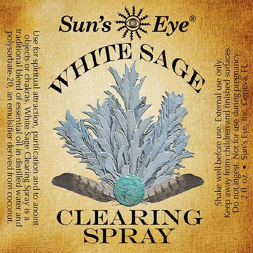 white sage clearing spray