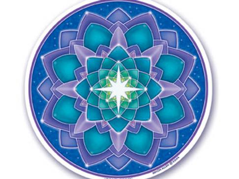 lotus | star sticker
