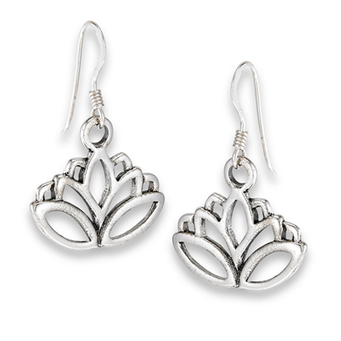inspired series | full bloom lotus dangles