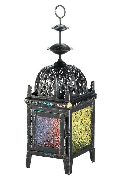 moroccan lantern   rainbow square