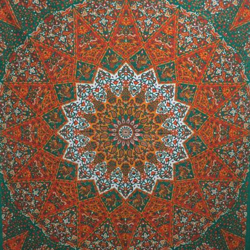 psychedlic star