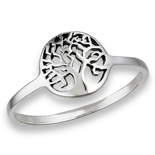simple series | tree of life ring