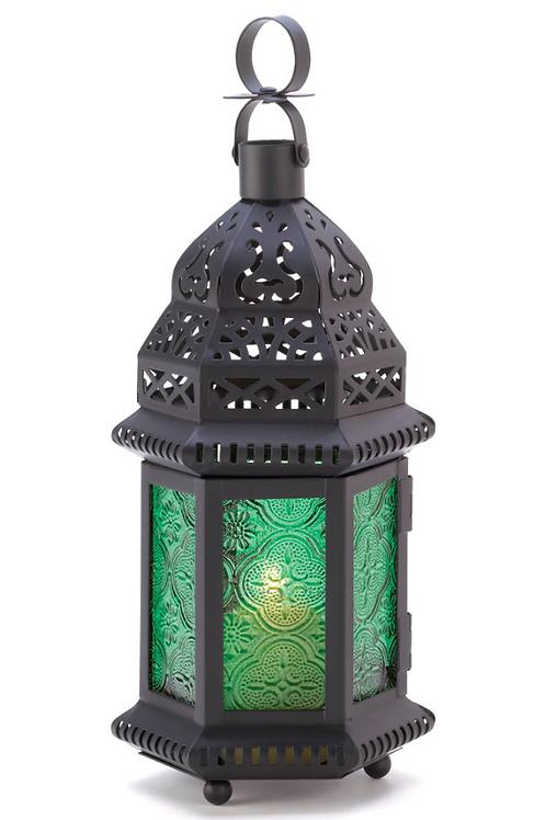 moroccan lantern | emerald turret dome