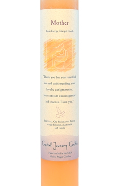 mother - reiki energy charged candle